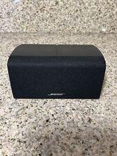 Bose Center Channel Speaker (Horizontal) Double Cube Blk Acoustimass/Lifestyle.
