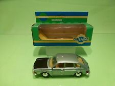 GAMA 9491 VW VOLKSWAGEN 411E - METALLIC GREEN 1:43 - EXCELLENT IN BOX