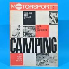 DDR Illustrierter Motorsport IMS 10/1967 Camping Frohburg Mittelgebirgsfahrt B