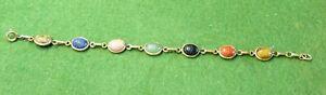 1/20 14K Vintage Scarab Bracelet
