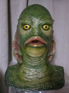 Creature from the Black Lagoon Gill-man 1:1 Scale Bust Statue Monsters Movie JPN