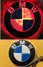 4D Led Badge Emblem Logo Red Light Lamp Sticker For BMW 1 3 4 5 6 7 X3 X5 X6