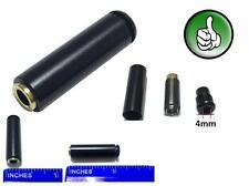 2x 3.5mm 4 Pole Female Repair headphone earphone Jack Plug Audio Soldering Black