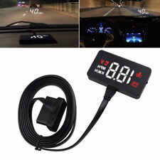 AU OBD2 Digital Car HUD Head Display Projector Speedometer Speed Warning Alarm