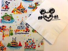Disney D23 Tokyo Disneyland Souvenir Gift Bag & Disney Channel Napkin (1983)
