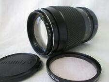 Auto Mamiya/Sekor SX 1:2.8 135mm M42 Fit Lens + Filter & Cap