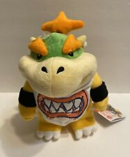 """Baby Bowser Jr Koopa Plush Toy Super Mario Brother 8.5""""H, US Licensed products!"""