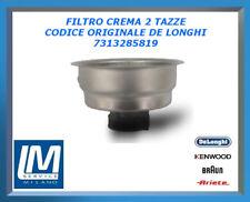 FILTRO CREMA 2 TAZZE 7313285819 DE LONGHI ORIGINALE