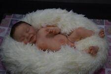 "Full Body Soft Solid girl or boy PREMATUR16""Silicone Baby doll/REBORN SILICONA"
