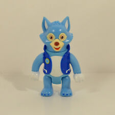 "2010 Wolfie Blu Wolf 3.25"" Learning Curve Action Figure Disney Special Agent Oso"