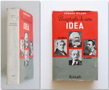 Edmund Wilson BIOGRAFIA DI UN'IDEA 1949 1a ed. Da Marx a Lenin Rizzoli