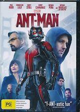 Ant-Man DVD NEW Paul Rudd Michael Douglas Region 4