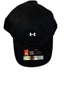 Under Armour NWT Women's Favorite Hat Cap FREE FIT UA Logo Adjustable  Black