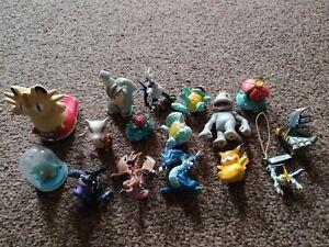 Official vintage Pokémon Digimon figures Including Venusaur squirtle + lots more
