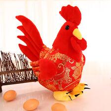 2017 Mascot Chicken Plush Cock Stuffed Animal Stuffed Rooster Kids Toy Doll 25cm