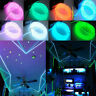 2m LED Cold Light Strip EL Wire Lamp Glow Home Car Interior Atmosphere Decor