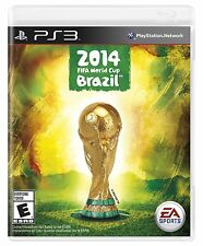 PLAYSTATION 3 2014 FIFA WORLD CUP BRAZIL BRAND NEW PS3 SOCCER VIDEO GAME