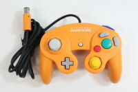 Official Nintendo GameCube Controller Orange Cord Damage Cosmetic Wears TIGHT