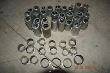 46 vtg. western electric cinch tube shields & chassis mounts tube amp 396A 412A
