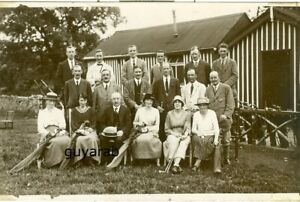 uncaptioned view RP Clitheroe & District Golf Club Committee Aug1921 with names