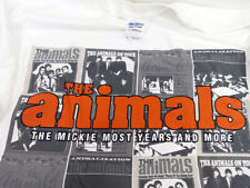 The Animals British Invasion Band T-Shirt: Mickie Most Years Size Xl 100% Cotton