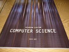Pearson Custom Computer Science  CSIS 103  (2011)   NEW