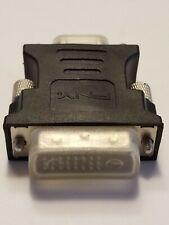 PNY DVI-I dual link Male to VGA Female Adaptor convertor dongle monitor display