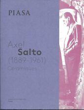 PIASA AXEL SALTO STUDIO CERAMICS Auction Catalog 2015