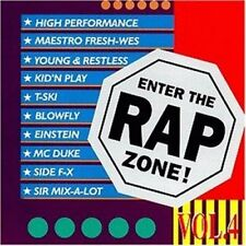 Enter the Rap Zone 4 Maestro Fresh Wes, High Performance, T-Ski, Sir Mix-.. [CD]