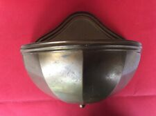 Large Brass Wall Pocket