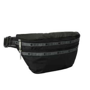 LeSportsac Solid Collection Heritage Belt Bag in Heritage Jet NWT