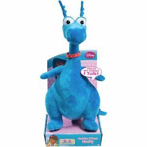 "Disney Doc McStuffins Talking Stuffy Dragon 8.5"" 22 cm Plush Soft Stuffed Doll"
