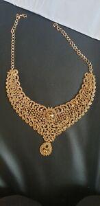 Indian Bollywood Rose Gold Bridal Complete Set