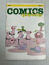 Johnny Hart Bc Cover ~ 1984 Comics Review # 2 ~ Bloom County Peanuts Garfield