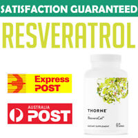 Thorne Research Resveracel NICOTINAMIDE RIBOSIDE 300mg 60 caps NAD Resveratrol