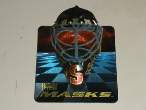 1996-97 Pinnacle Masks Die Cut #7 Nikolai Khabibulin
