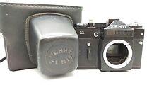 1983 ère soviétique Noir Zenit - 11 35 mm appareil photo reflex M42 vis Body Cuir casekamera