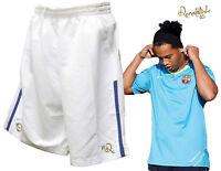 New NIKE Ronaldinho 10R Football Training Shorts White Boys Girls Age12-13 Years