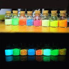 1Pack Glow in dark Sand Luminous for FISH TANK AQUARIUM Ornament Colorful