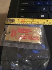Vintage Key Chain: Metro Red Line Eastern Extension- Admit One