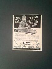 1950 Doepke Bottom Dump Truck  Vintage Model Toy Memorabilia Promo AD