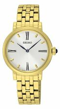 Seiko Gold Plated Case Wristwatches