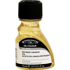 Winsor and Newton Refined Linseed Oil - 2.5 oz.  - 2.5 Oz.