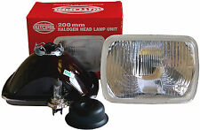 82-93 CHEVY S10 S-10 EURO 200mm H4 H6054 HEADLIGHTS