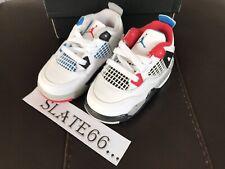 """Air Jordan Retro 4 se 'lo que el """"Niño Talla 5.5 BQ7670 146"""