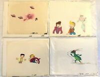Back to the Future 4 ANIMATION CELs Hand Paint Drawing Actual Production TV show