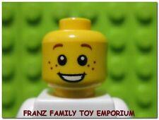 New LEGO Minifig HEAD Freckles Castle Kingdom Squire Pirate Boy Girl Male Female