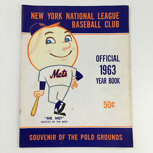 1963 New York Mets National League Baseball Club Official Year Book