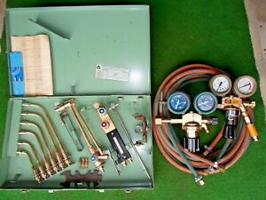 Autogenschweißgerät Schweißbrenner Schneidbrenner Sauerstoff Acetylen ZIS MWW520