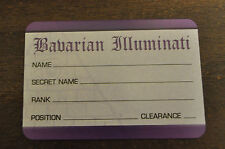 Bavarian Illuminati Member Promo Card Steve Jackson Games